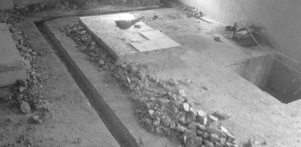 штробление стен бетон